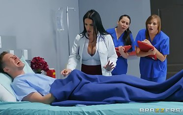 Markus Dupree fucked sexy doctor Angela Namby-pamby in the hospital