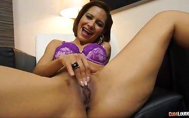 Brazilian woman taking a grown younger penis - elisa love