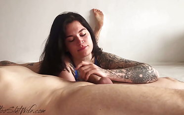Murkiness Swell up Big Cock and Oral Creampie for Definite