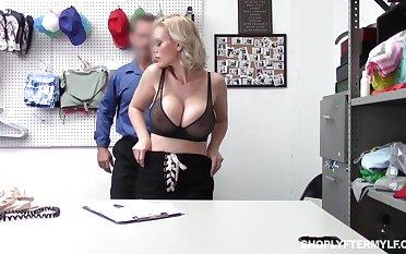 Russian sex machine screw Casca Akashova gets punished for swiping