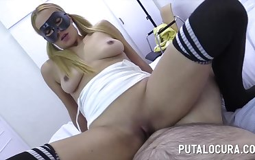 Amateur spanish minx Xinia hot sex clamp