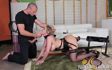 Submissive giant breasted MILF Dee Williams rides cock really ludicrous