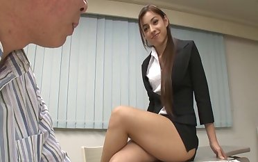 Beautiful Shelby Wakatsuki knows how to handle a heavy dick or two