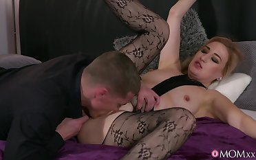 Bitch yon sexy pantyhose, flaky Davenport hardcore lovemaking