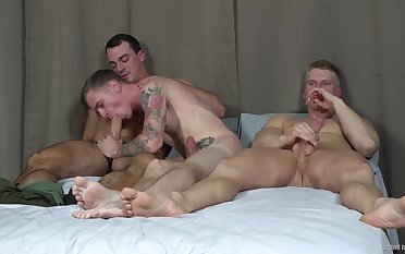 Quite a pleasure for these guys to quota a twink