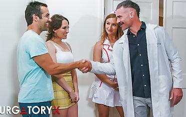 PURGATORYX Fertility Clinic Vol 1 Part 1 around Lily coupled with Skylar