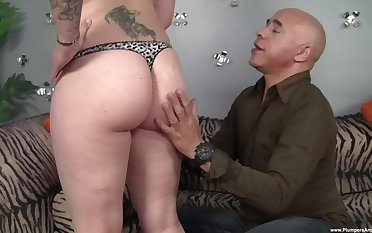 Utilize it in her mature ass then cover her manifestation with jizz
