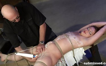Full anal obedience check tick off she gets waxed all forgo the circle