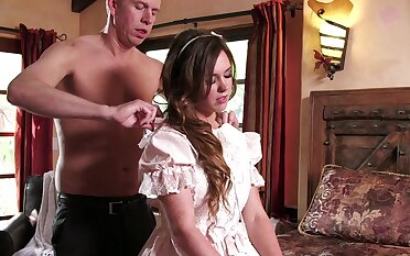 Sensual tolerant is keen to pump these inches down her pink fanny