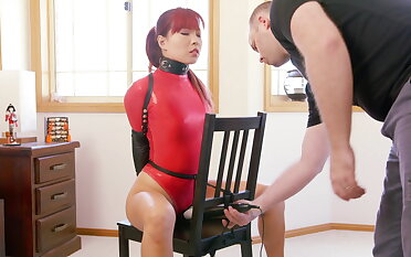 Chair Bound more Red Fall on Bodysuit