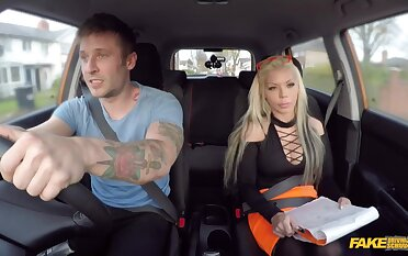 Fake Driving School - Barbie Can't Resist Tattooed Guys Charm 1 - Axel Aces