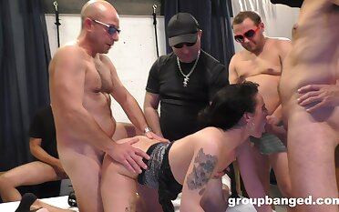 Nude infant gagged and ass fucked in shrewd XXX