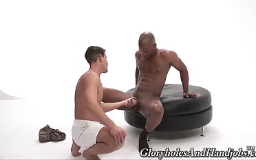 Amazing joyous interracial with Mike James added to hung guy Be imparted to murder Mach