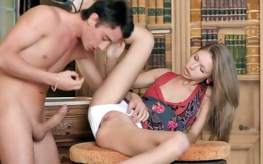 A romantic anal sex