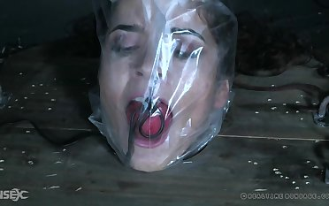 Dear Victoria Voxxx gets tied up with the addition of gagged by a stranger
