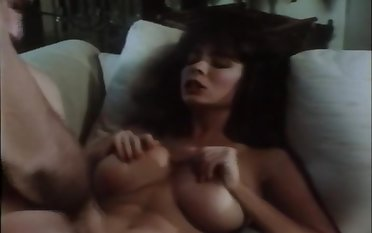 Big tits and a hairy pussy vindicate his day