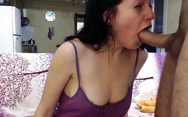 Amateur brunette sucks cfnm stripper to orgasm handy cfnm party