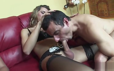 Naughty challenge gets his ass pounded
