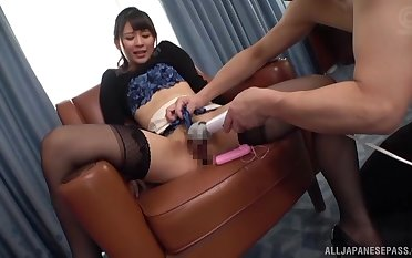 Konoka Yura ends up riding hard after a conscientious toy starup