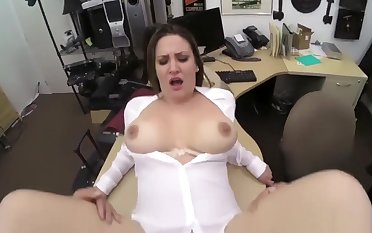 Tall thick irritant Scheming Business Lady Gets Fucked!