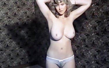 Fruit British big tits boogie striptease dance