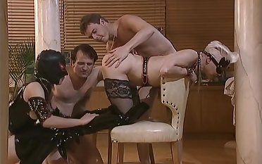 Getting fisted and pounded - DBM Video